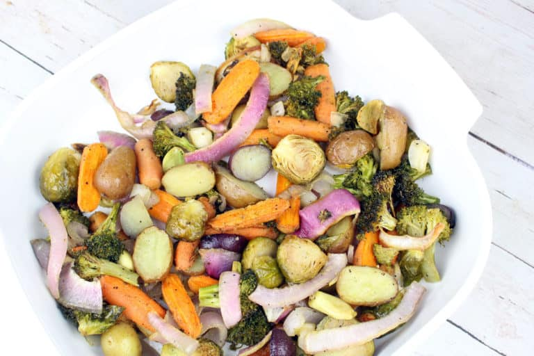 Easy Honey Roasted Vegetables