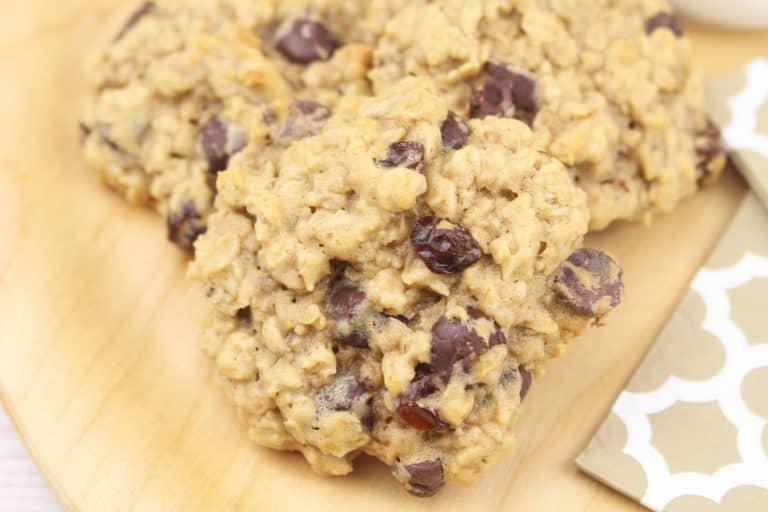 Oatmeal Chocolate Chip and Raisin Cookies