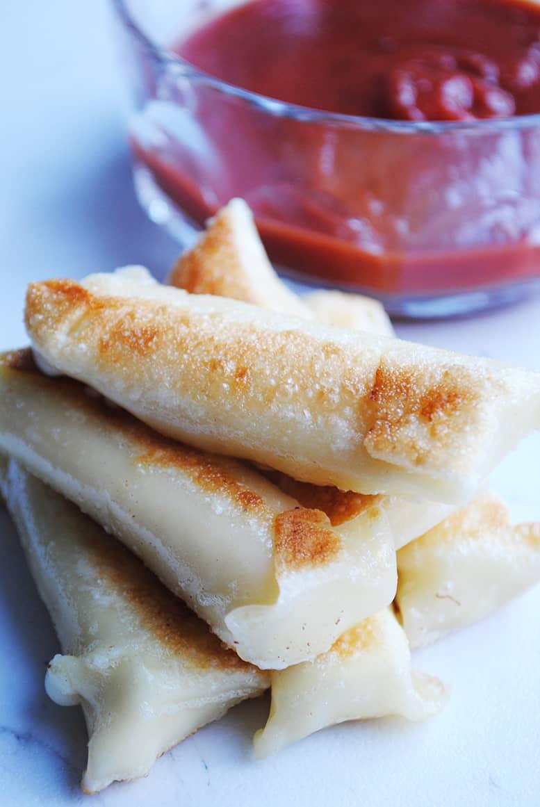 skinny mozzarella stick