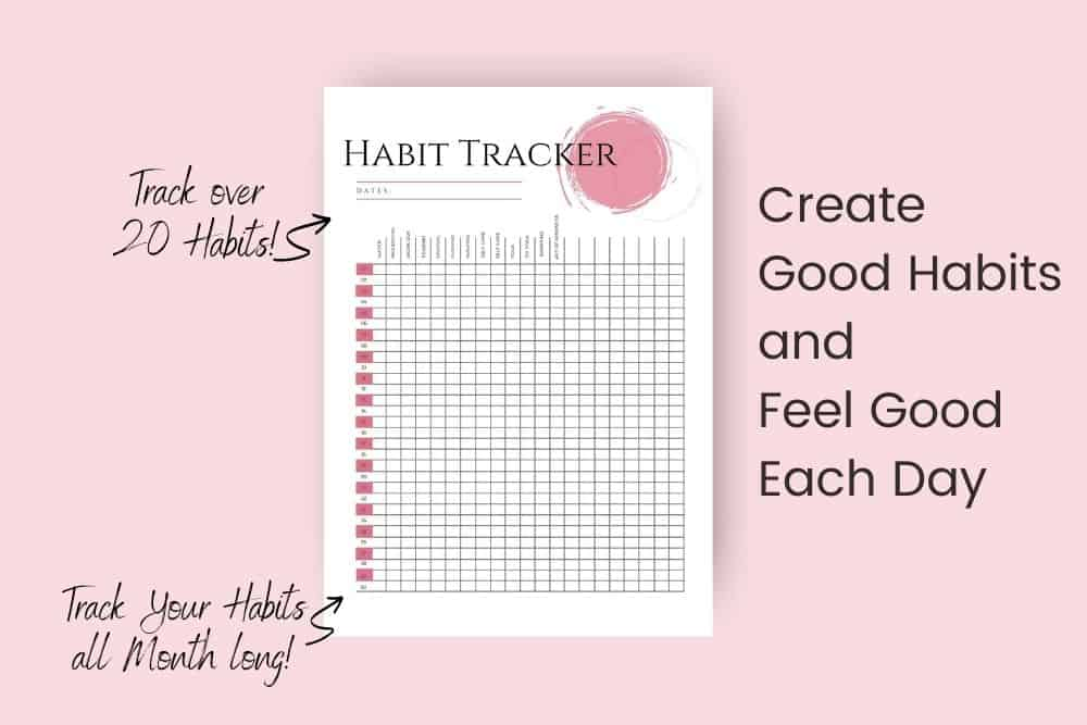 Habit Tracker Printable