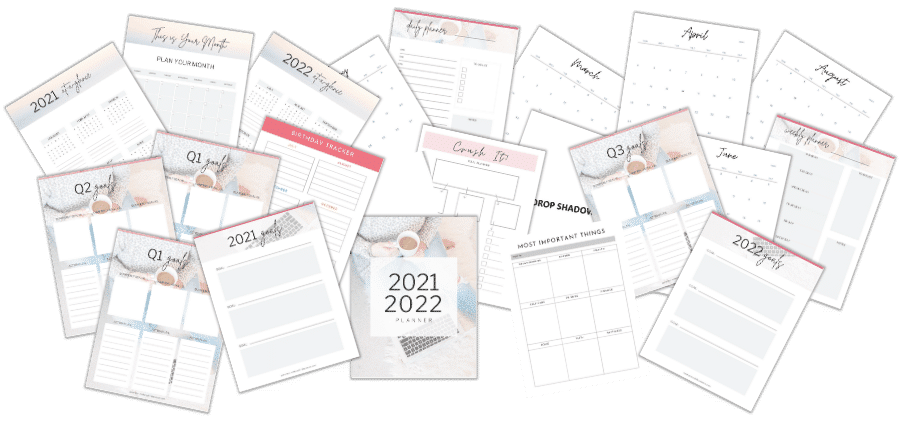 Busy Mom Planner