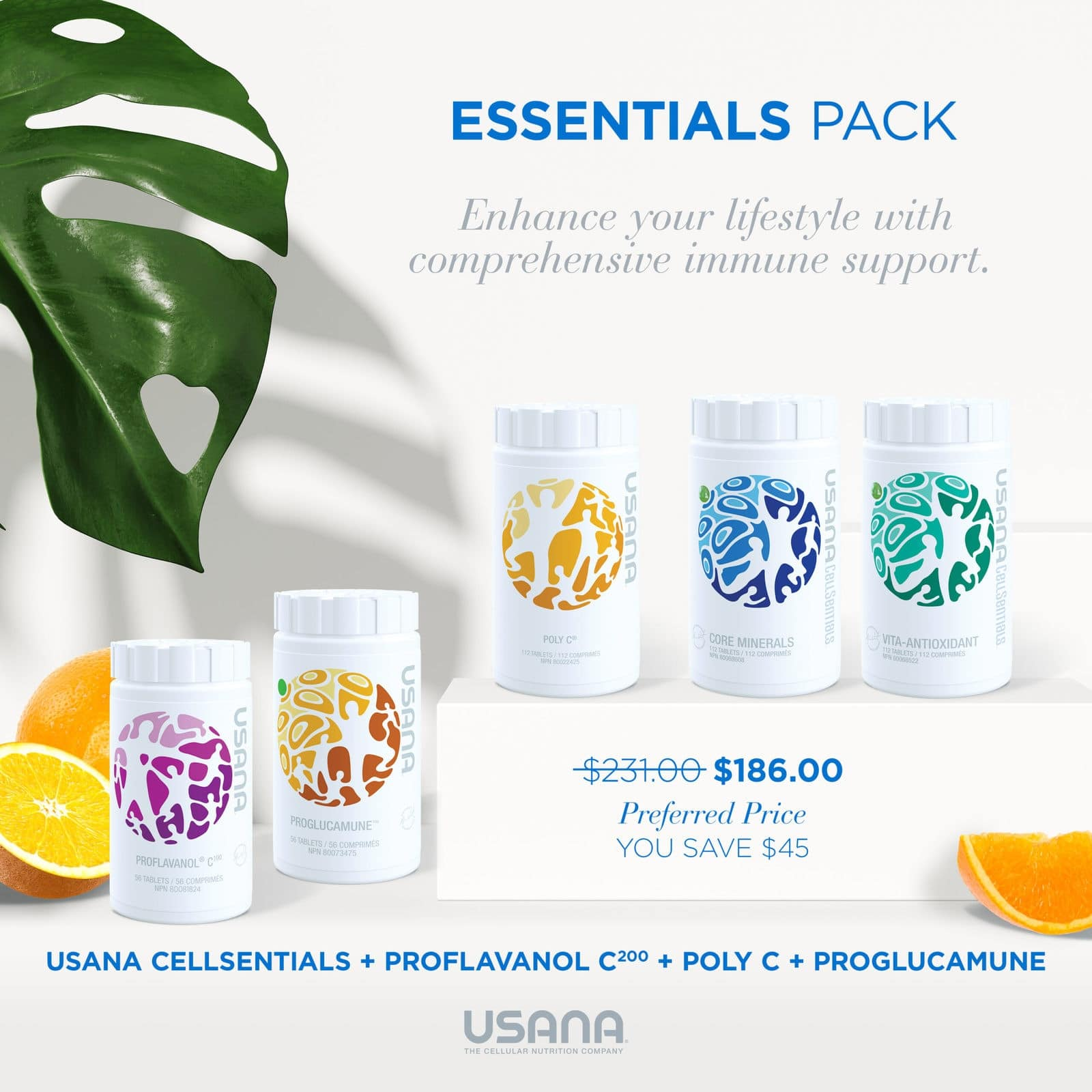 Usana Essentials Product Pack