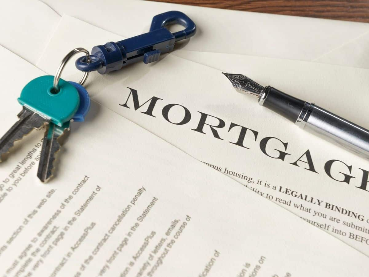 applying for a mortgage.